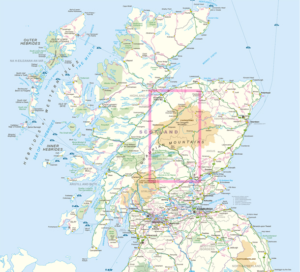 Contains Ordnance Survey data © Crown copyright and database right 2015